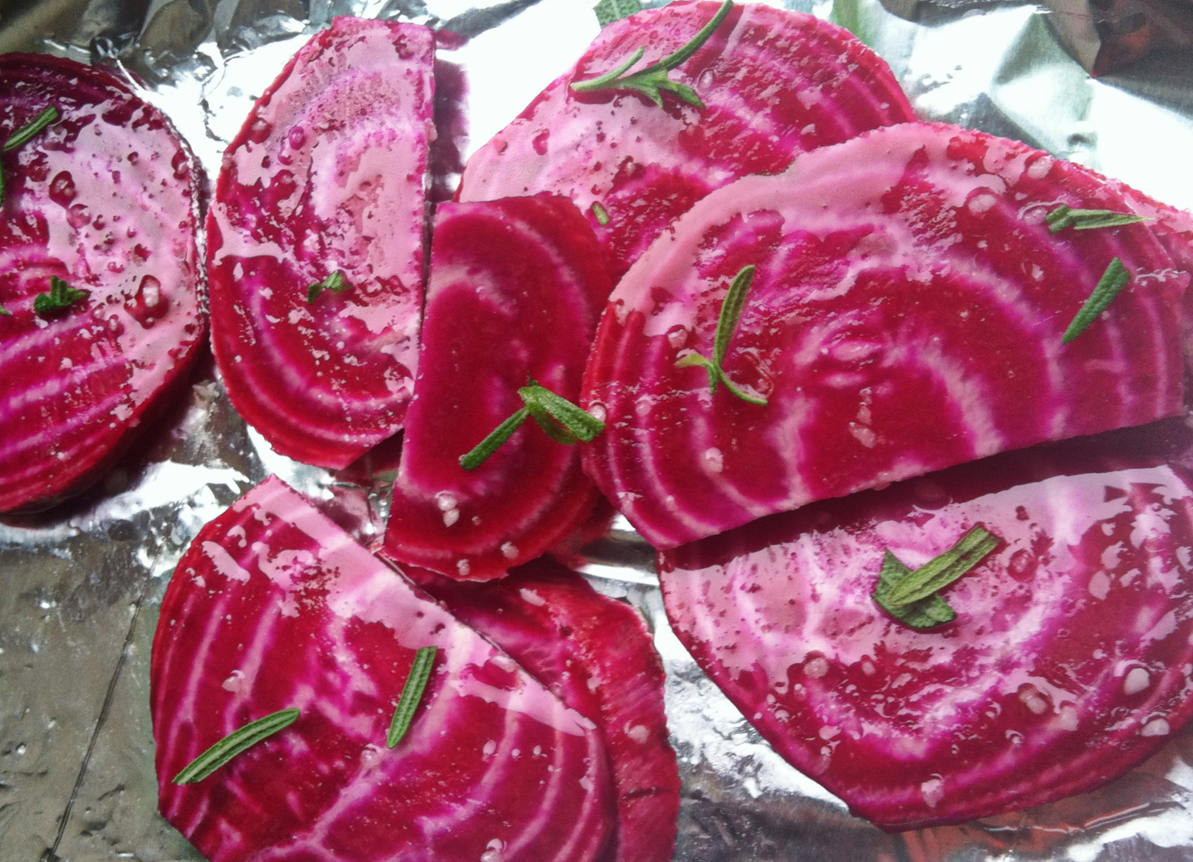 Turn the Beet Around ~ Orange-Rosemary Roasted Chiogga Beets with ...